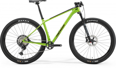 "Велосипед '21 Merida Big.Nine 7000 Рама:L(19"") Black/Green (6110879818)"