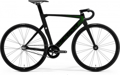 Велосипед '22 Merida Reacto Track Limited Рама:ML(54cm) CandyGreen/Black