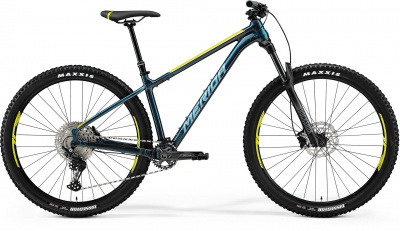 "Велосипед '21 Merida Big.Trail 500 Рама:M(16"") Teal-Blue/Lime/Silver-Blue (6110881872)"