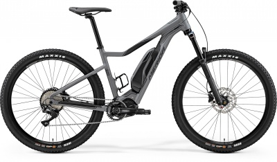 "Велосипед '19 Merida eBig.Trail 500 Колесо:27.5""+ Рама:L(49cm) MattGrey/Black (6110785465)"